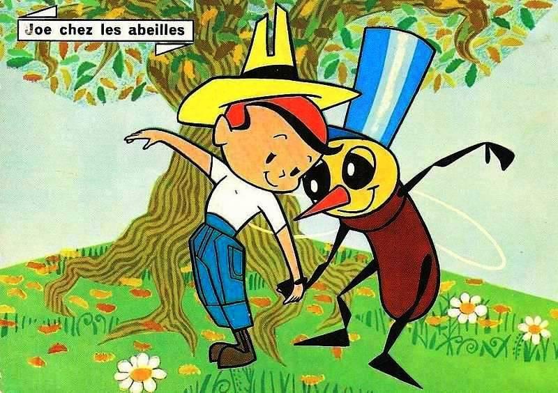 joe chez les abeilles